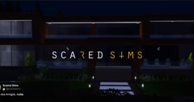 Scared Sims splash